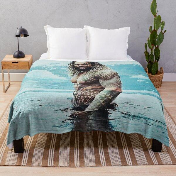 Jason Momoa  Throw Blanket