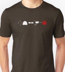Captain Buff - Component Parts Unisex T-Shirt