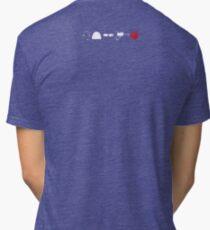 Captain Buff - Component Parts (Small) Tri-blend T-Shirt