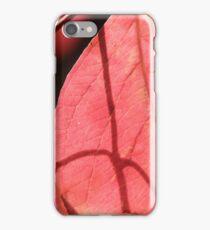 Leaf Shadow iPhone Case/Skin