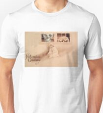 Wrong Shoulder... (Vintage Halloween Card) Unisex T-Shirt