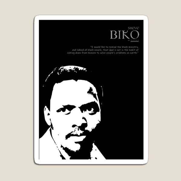 A Quote By Steve Biko Magnet