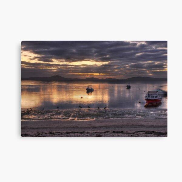 Dawn's Purple Light Canvas Print