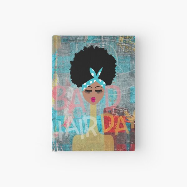 Bad Hair Day Hardcover Journal