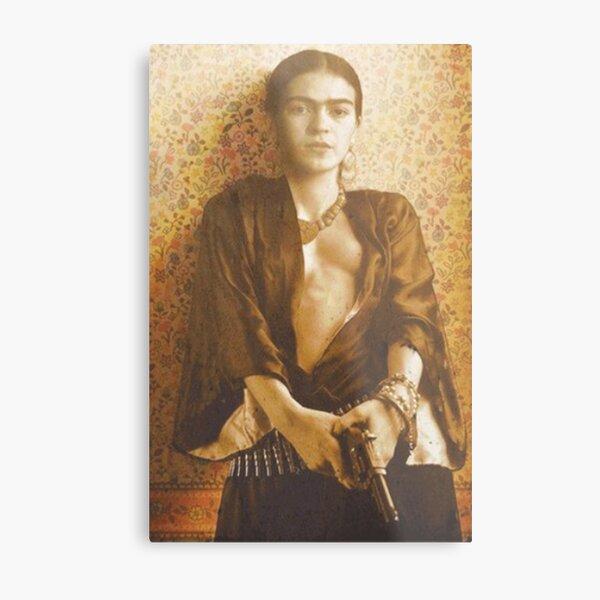 Pistolet Frida Khalo Impression métallique