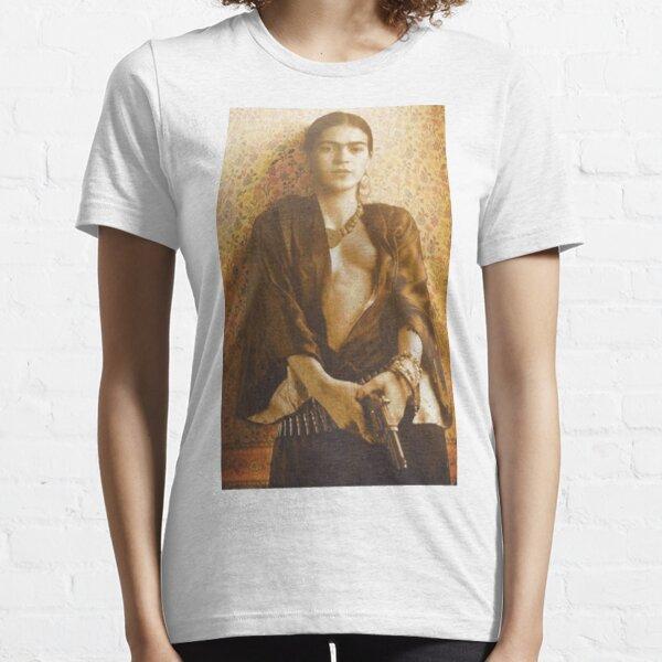 Pistolet Frida Khalo T-shirt essentiel