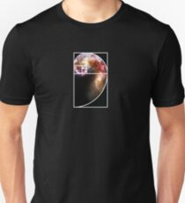 Fibonacci Spiral Galaxy Unisex T-Shirt