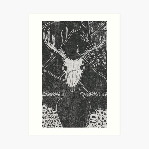 Wendigo Print Art Print