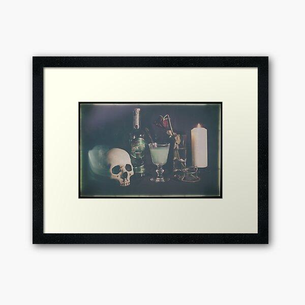 L'Absinthe C'est La Mort III Framed Art Print