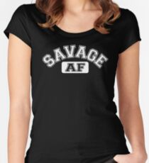 SAVAGE - AF Women's Fitted Scoop T-Shirt