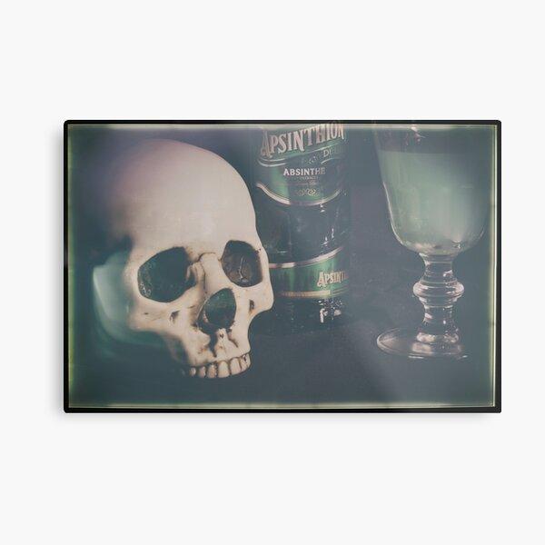 L'Absinthe C'est La Mort II Metal Print