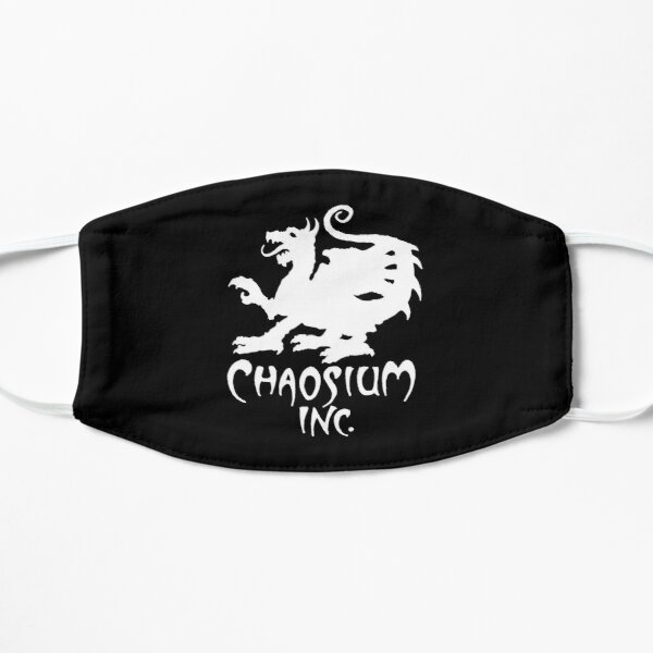 Official Chaosium Inc. Logo (White) Mask