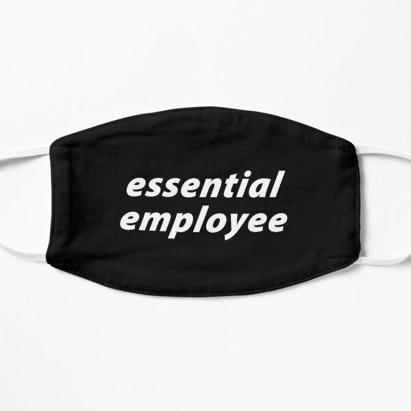 Essential Employee Flat Mask