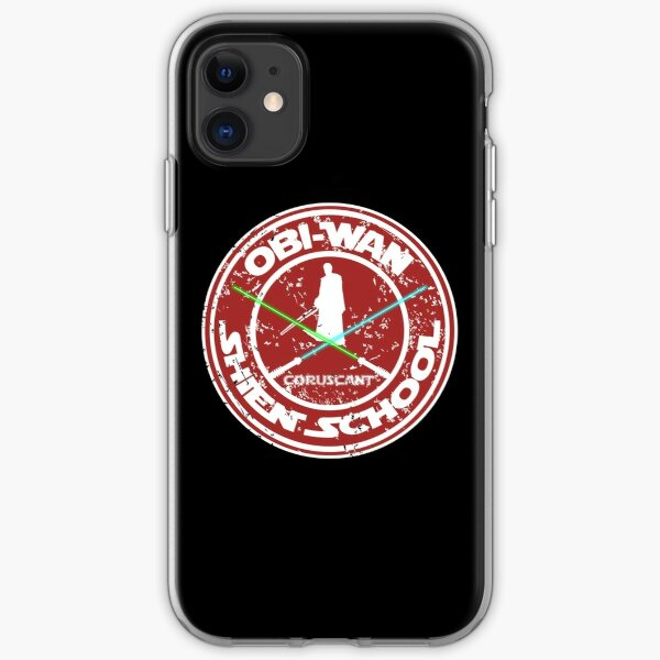 OBI-WAN SHIEN SCHOOL  iPhone Soft Case