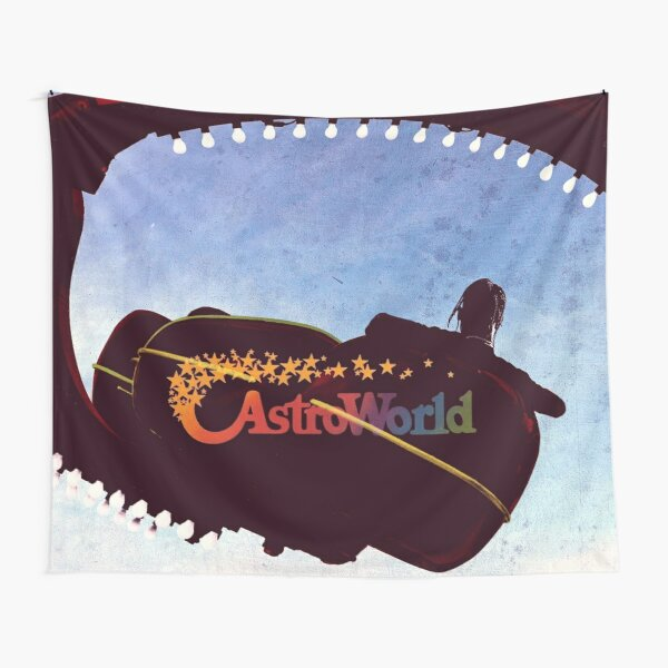 Greetings from Astroworld fan cover Tapestry