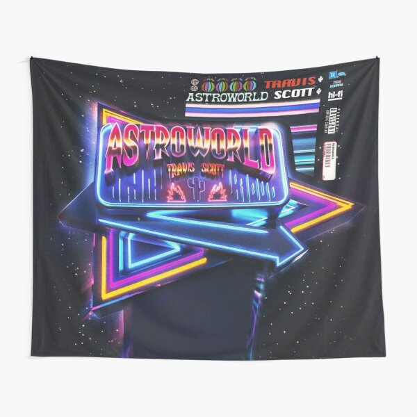 Astroworld fan cover Tapestry