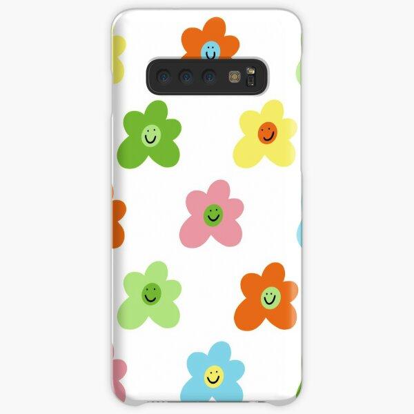 Golf le fleur inspired flower smiley pattern Samsung Galaxy Snap Case