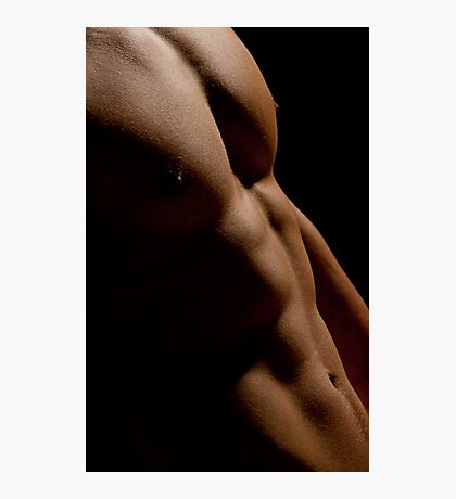 Close - gay art male art Photographic Print