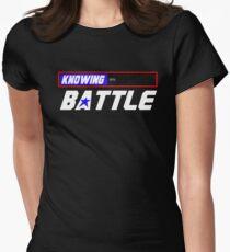 Half the Battle Women's Fitted T-Shirt