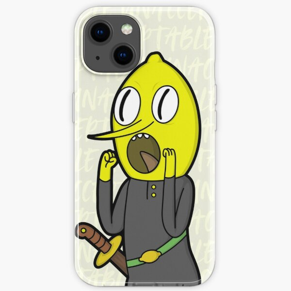 UNACCEPTABLE by Lemongrab iPhone Soft Case