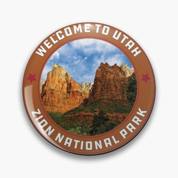 Zion National Park Utah Zion Family Trip Or Summer Trip Pin