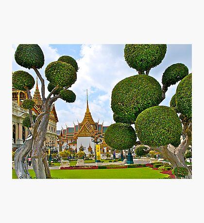 Grand Palace, Bangkok, Thailand. Photographic Print