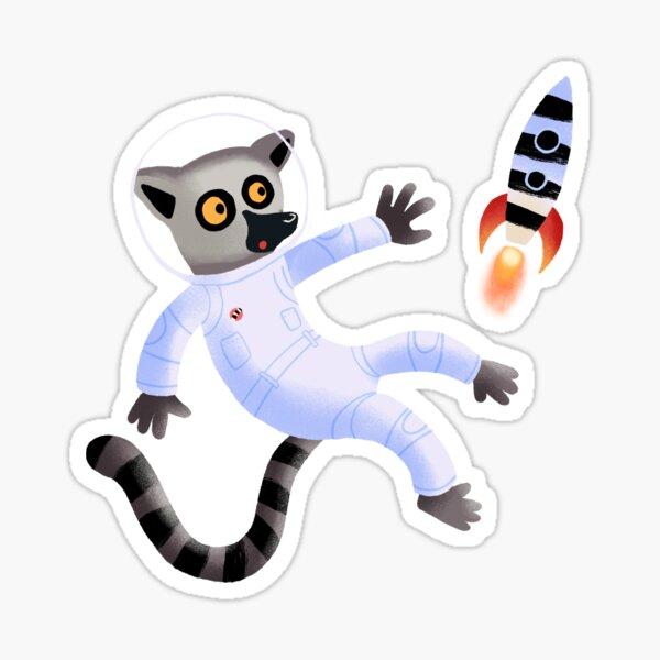 Als der Affe die letzte Rakete verpasste Sticker