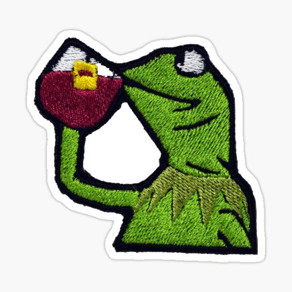 Frog Patch Sticker