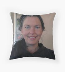 I could be the President's daughter, I am proud he is my leader of my country Throw Pillow