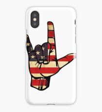 Rock On America iPhone Case/Skin