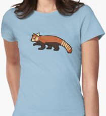 Red Panda Women's Fitted T-Shirt