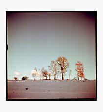 Winter horizont Photographic Print