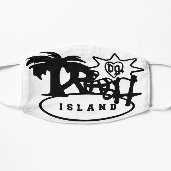 Bladee Drain Gang Trash Island logo merch Flat Mask