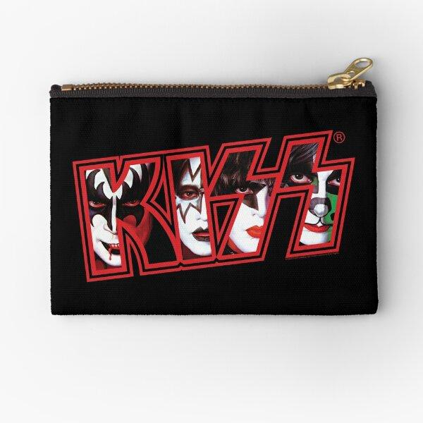 Kiss Band Zipper Pouch