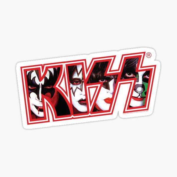 Kiss Band Sticker
