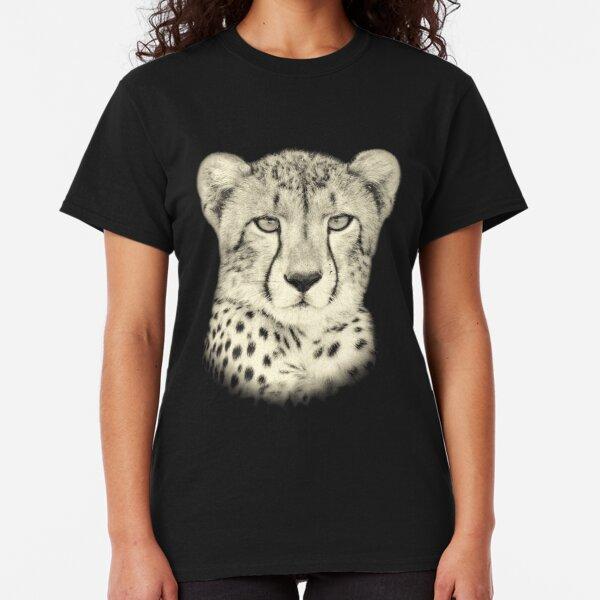 Young Cheetah Making Eye Contact Classic T-Shirt