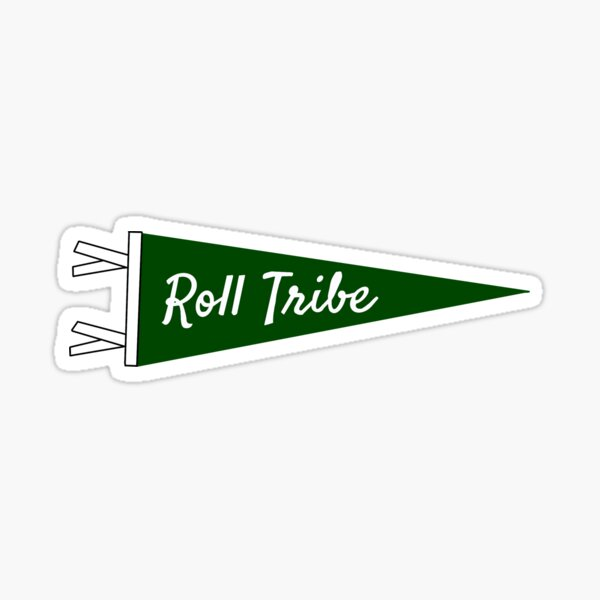 Roll Tribe William and Mary Pennant Sticker