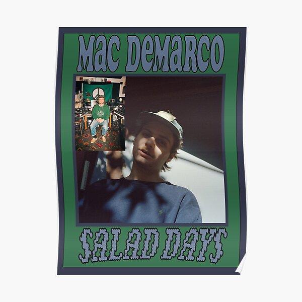 Mac Demarco Salad Days Poster Poster