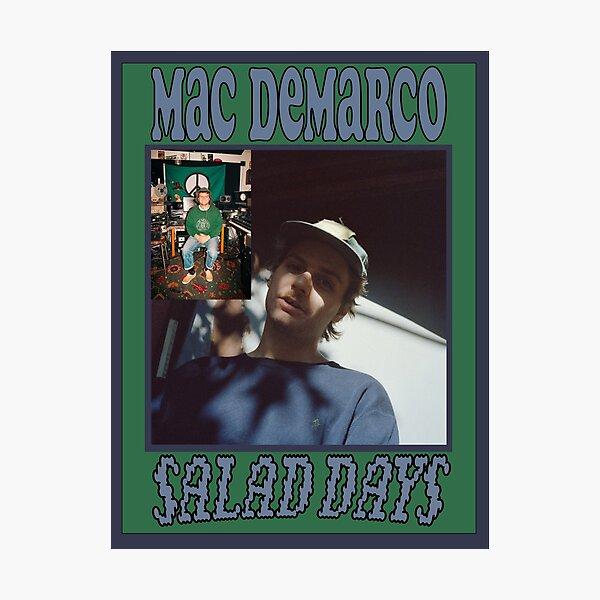 Affiche des jours de salade Mac Demarco Impression photo