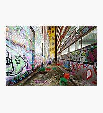 Street Canvas Photographic Print