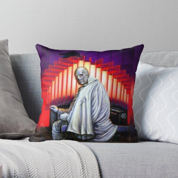 Phantom Spectre at the organ Throw Pillow