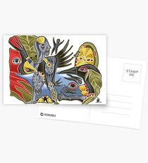 crowshe tree Postcards