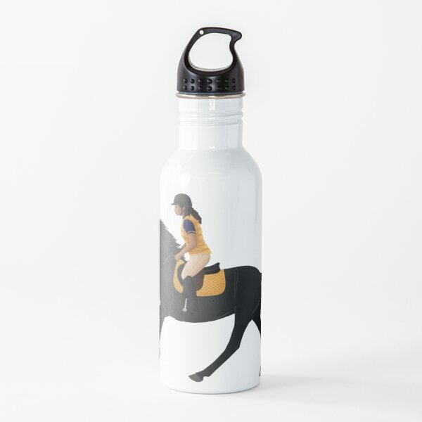 Zoe and Raven from Free Rein - Equine Rampaige Water Bottle