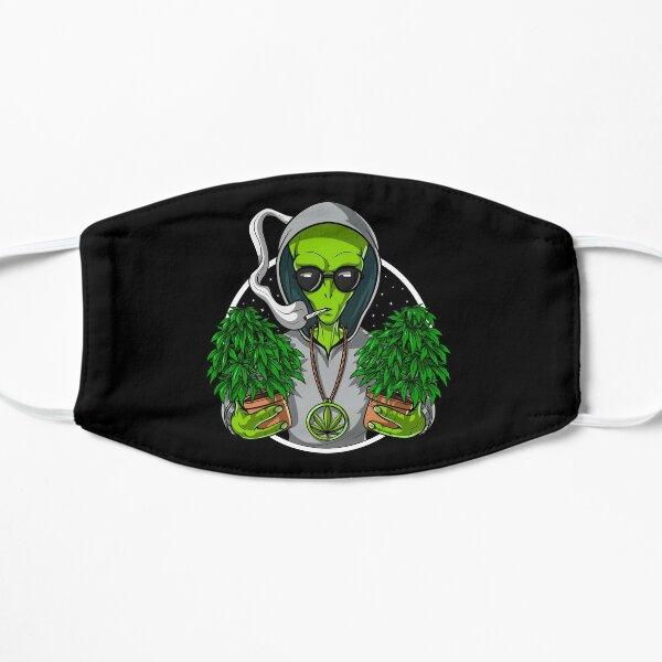 Alien Weed Stoner Flat Mask
