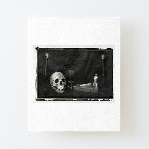 Memento Mori Canvas Mounted Print