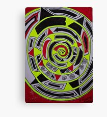 Adar (אדר) abstract.  Hand made  by Doktor Faustus. Views 1007 . Thank you friends ! Featurted Art Changing the World - Futurism. Canvas Print