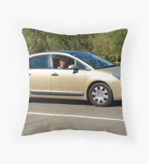 Citroen C4 Throw Pillow