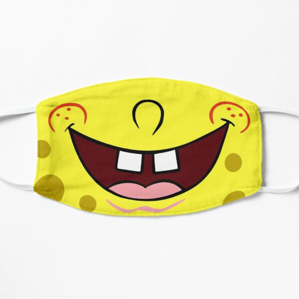 Face mask - Spongebob Flat Mask