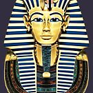 Tutankhamun 'King Tut' Death Mask by Steve Crompton