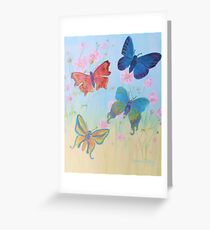 Butterflies for Lilly Greeting Card